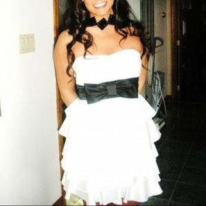 Black and white Teeze Me party dress!
